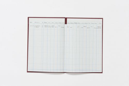 Guildhall Headliner Account Book 38 Series 16 Cash Column 80 Pages 298x203mm Ref 38/16Z