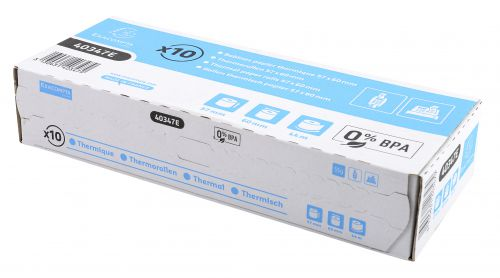 Thermal Rolls BPA Free 1 ply 55g 57x60x12 PK10