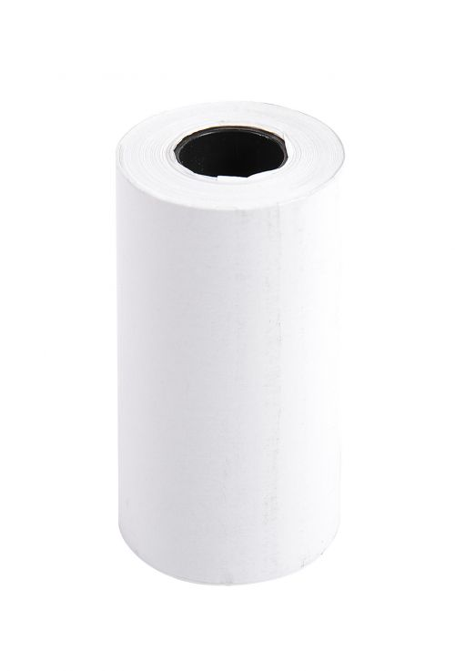 Exacompta Thermal Credit Card Roll BPA Free 1 Ply 55gsm 57x30x12mm 9m White (Pack 20)