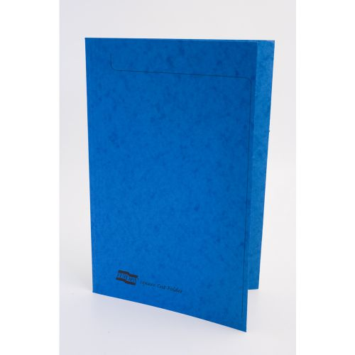 Europa Square Cut Folder 300 micron Foolscap Blue (Pack of 50) 4825