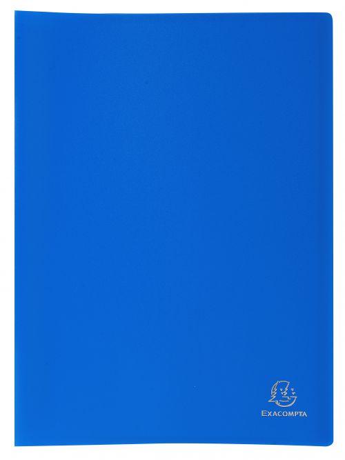 Exacompta A4 Display Book Soft Eco Polypropylene 40 Pocket Blue
