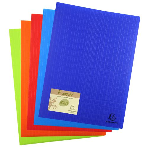 Exacompta Forever Display Book 50 Pocket Assorted (Pack of 8) 885570E