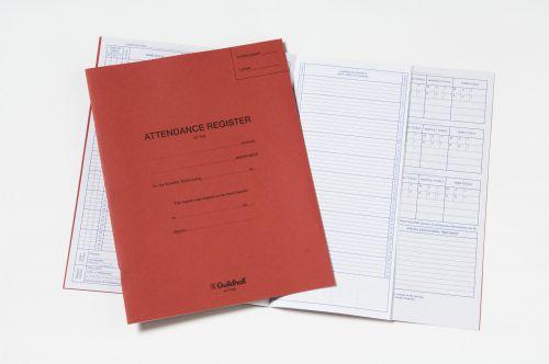 Guildhall 70gsm Attendance Register (326 x 205mm) E100Z
