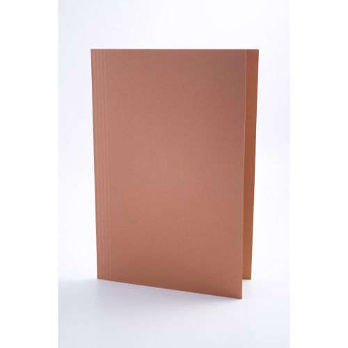 Guildhall Square Cut Folders Foolscap Orange PK100