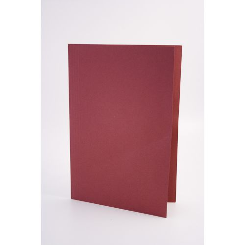 Exacompta Guildhall Square Cut Folder 315gsm Foolscap Red (Pack of 100) FS315-REDZ
