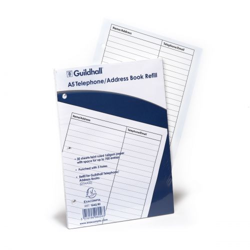 Goldine Address Book Refill A5
