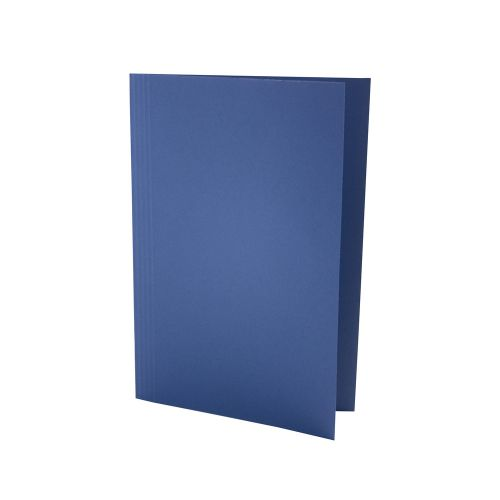ValueX Square Cut Folder LightWeight Foolscap Blue (Pack 100)