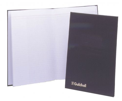 Guildhall Attendance Register 48pp 298x203mm Black Ref T1030Z