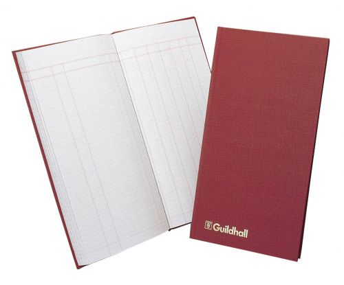 Guildhall Petty Cash Book Ruled 1 Debit 7 Credit 80 Page T272Z