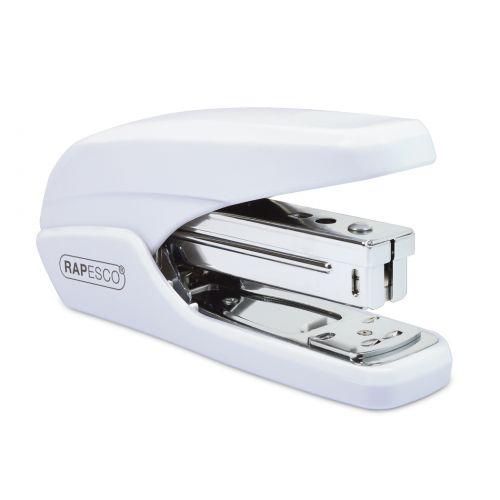 Rapesco X5-25ps Less Effort Stapler 25 Sheets White