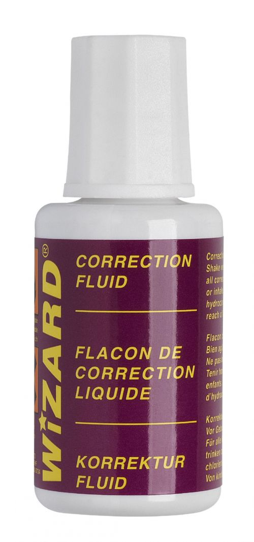 Value Correction Fluid White Pack of 10