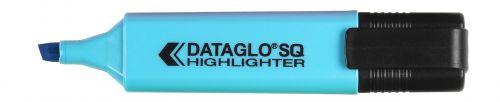 ValueX Highlighter Flat Barrel Chisel Tip Blue (Pack 10)