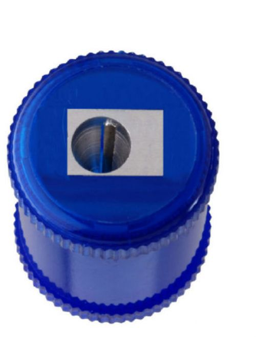 ValueX 1 Hole Barrel Sharpener Blue (Pack 10)
