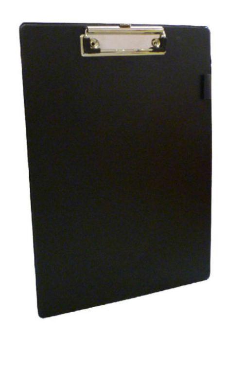 Value PVC A4 Clipboard Black