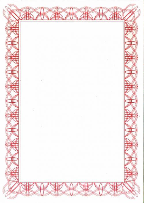 Computer Craft Red Reflex A4 Certificate Paper PK30