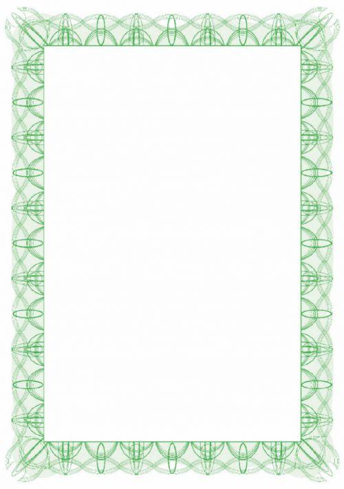 Computer Craft Certificate Paper A4 90gsm Reflex Green (Pack 30)