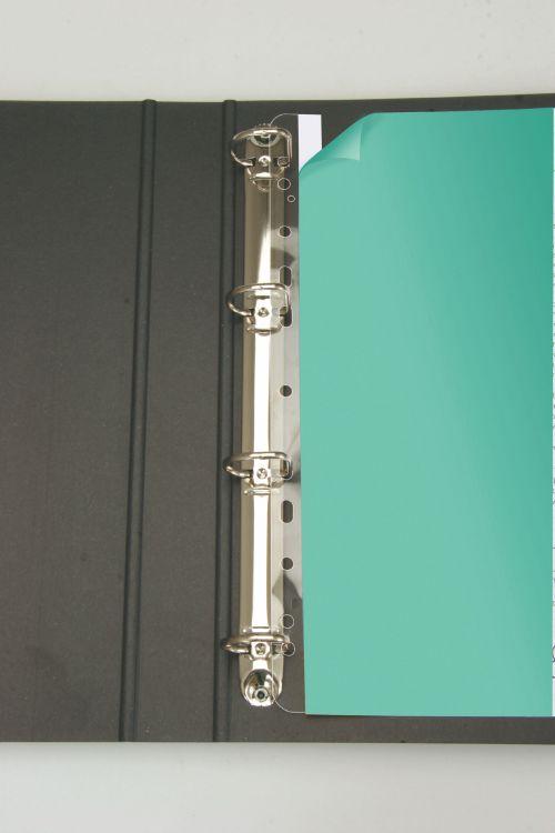 3L Filing Strips 295mm A4 Transparent 8804-50 (PK50)