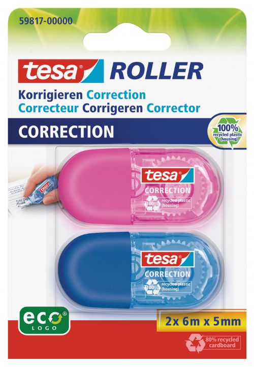 tesa Mini Correction 5mm x 6M 59817 PK2