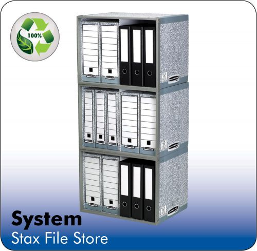 Fellowes Bankers Box System Stax File Store 01850-70