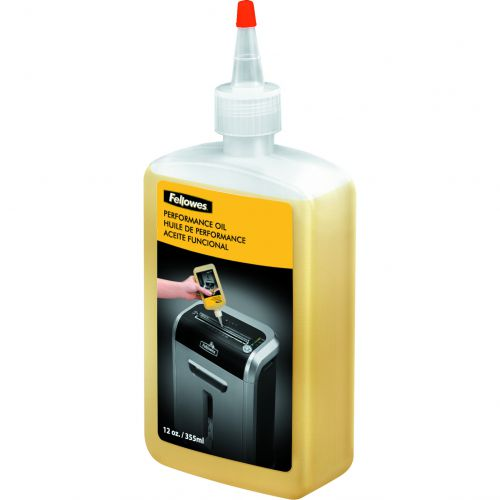 Fellowes Shredder Oil for all Cross-cut Shredders Bottle 355ml Ref 35250