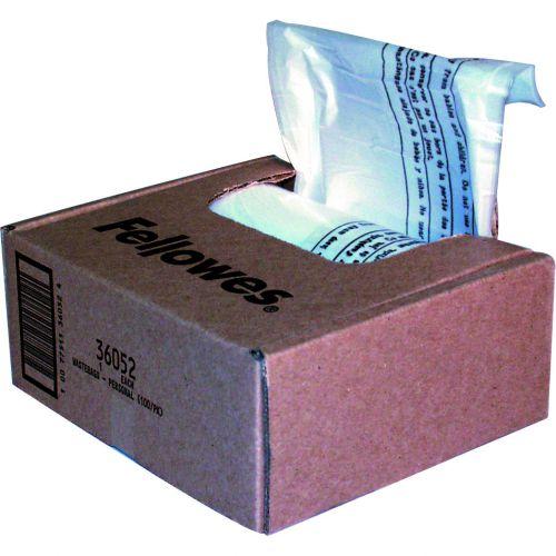 Fellowes Shredder Bags 38 Litre (100) 36052