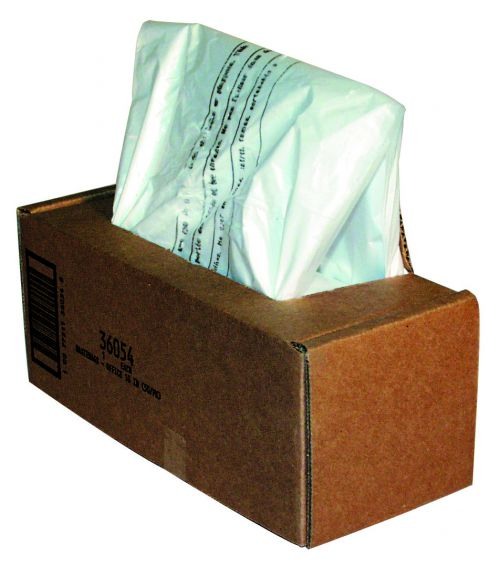 Fellowes Shredder Bags Capacity 53-75 Litre [for SB-97Cs and C-120 C-220 Series] Ref 36054 [Pack 50]