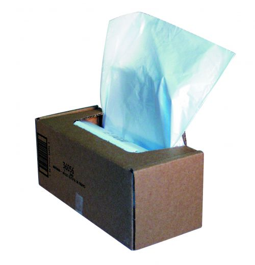 Fellowes Shredder Wastebags 75-85L Approx (Pack of 50) 36056