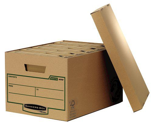 Fellowes Earth Series Storage Box Large (Pack of 10) 4470701