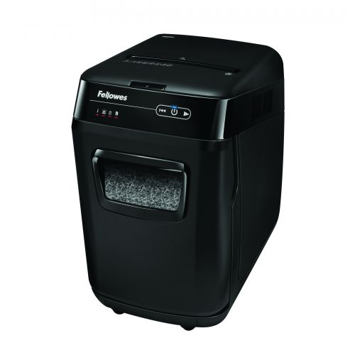 Fellowes Automax 200M Microshred Shredder (200 sheet automatic shredding capacity) 4656401