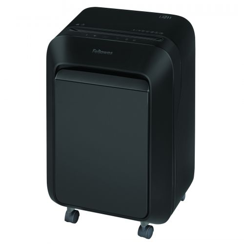 Fellowes Microshred LX211 Black Shredder