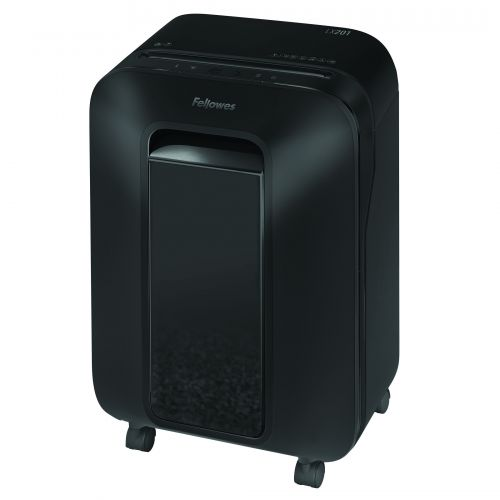 Fellowes Microshred LX201 Black Shredder