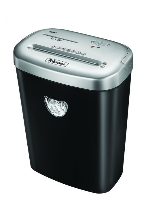 Fellowes 53C Deskside Shredder 4x35mm Cross Cut 23 Litre Din3 10 Sheet Ref 4653001