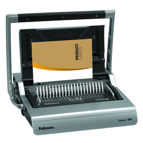 Fellowes Galaxy 500 A4 Large Office Manual Comb Binder with Multi-User Satellite System 5622001
