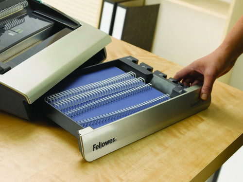 Fellowes Galaxy-E Large Office Electric Wire Binding Machine For Heavy Use Document Binding Machines WB6116
