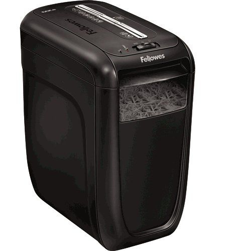 Fellowes 60Cs Deskside Shredder Cross Cut DIN3 P-3 22 Litres Ref 4606201