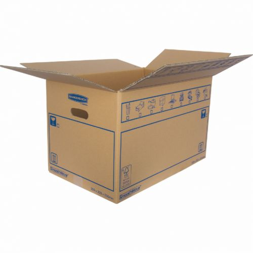 Bankers Box SmoothMove Standard Moving Box 350x350x550mm (Pack of 10) 6207301 BB73258