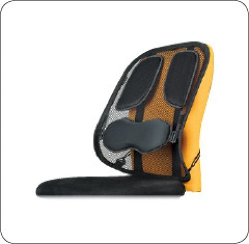 Fellowes Professional Series Mesh Back Support Padded Ref 8029901 [REDEMPTION] Apr-Jun20