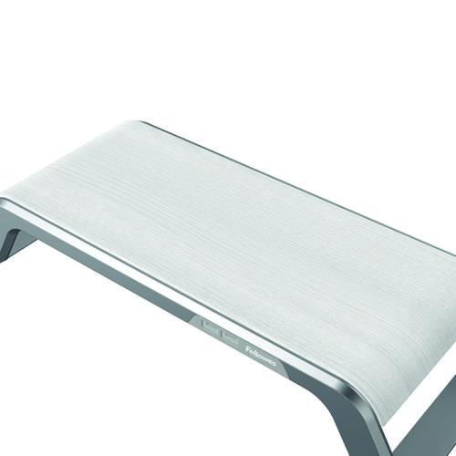 Fellowes Hana Monitor Support 230V USB EU UK Metal Base Grey - BB75145