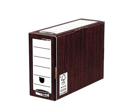 Bankers Box Woodgrain Premium Transfer Files (Pack of 10) 0005302 BB00531