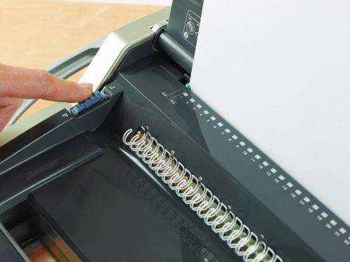 Fellowes Galaxy Large Office Manual Wire Binding Machine For