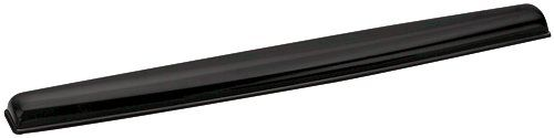 Fellowes Crystals Gel Wrist Rest Black 9112201