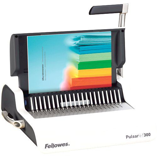 Fellowes Pulsar Plus 300 Binder Manual Capacity 300 Sheets Ref 5627601