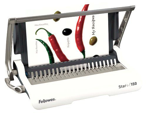 Fellowes Star Plus 150 A4 Manual Comb Binding Machine