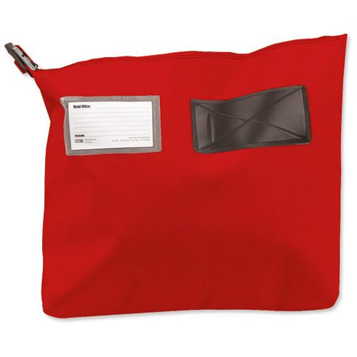 Versapak Single Seam Mail Pouch Medium Red