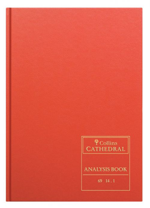 Collins Cathedral Analysis Book 14 Cash Column 96 Pages 69/141