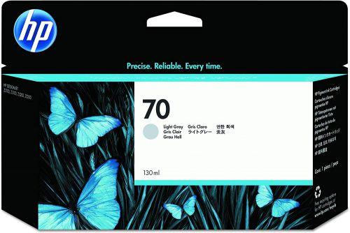HP 70 Grey Standard Capacity Ink Cartridge 130ml C9451A