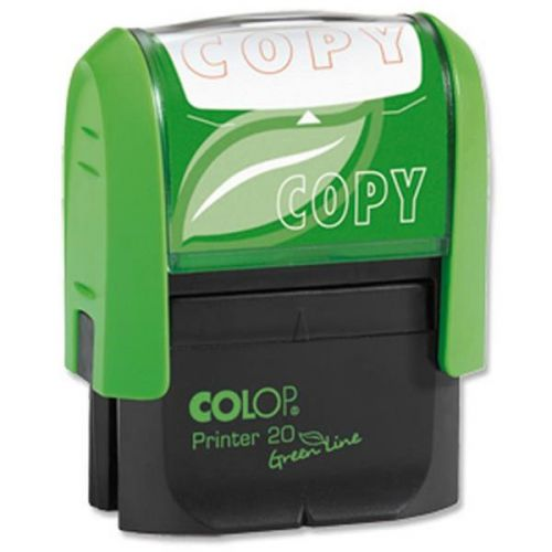Colop Word Stamp Green Line Copy (Red)
