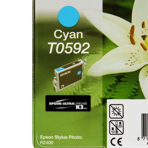 Epson C13T05924010 T0592 Cyan Ink 13ml