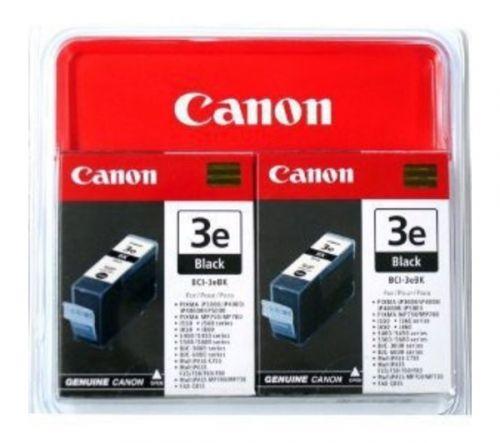 Canon 4479A298 BCI3E Black Ink 27ml Twinpack