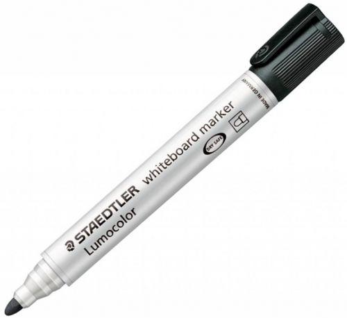 Staedtler Whiteboard Marker Black Bullet (Pack 10)